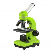 Microscop optic Bresser Junior Student Biolux, verde