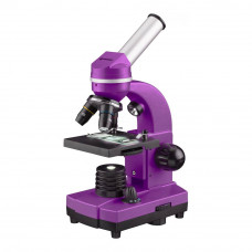 Microscop optic Bresser Junior Student Biolux, violet