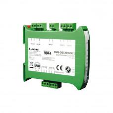 Modul analog-adresabil 2 iesiri sirena cu izolator la scurt-circuit Hochiki ESPIntelligent CHQ-DSC2/DIN(SCI)/SIL, SIL2, sina DIN, 17 - 41 Vdc