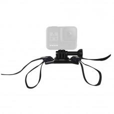 Montura casca Vented Helmet Strap Mount pentru camere video GoPro