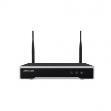 Network video recorder Hikvision DS-7104NI-K1/W/M, 4 canale, 4 MP, 50 Mbps, WiFi