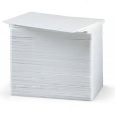 Pachet 200 carduri PVC Zebra Premier 104523-210, CR80, 10mil, alb