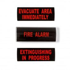 Indicator optic si acustic UTC Fire&Security GRP26-03, ilumininare LED, 90 dB, 24 Vcc