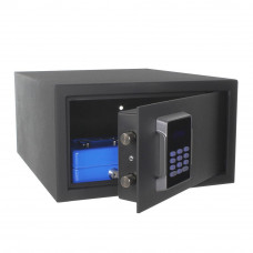 Seif antiefractie tip laptop cu cifru electronic Rottner Neptun T06114, 25 L, 11.5 Kg