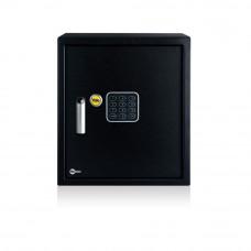 Seif standard birou YALE YSV/390/DB1, negru, otel