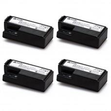 Set 4 baterii reincarcabile pentru tester detectori de fum SOLO 370 - 4PACK-001