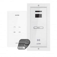 Set interfon Electra Touch Line Smart+ AKM.P1FR.T0S4.ELW, 1 familie, RFID, 5 tag-uri