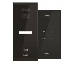 Set interfon Electra Touch Line Smart+ AKM.P1SR.T0S4.ELB, 1 familie, RFID, 5 tag-uri