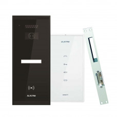 Set interfon Electra Smart INT-ELEC-03, 1 familie, RFID, 2 tag-uri