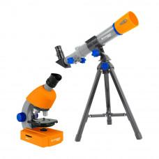 Set microscop si telescop Bresser Junior 8850900