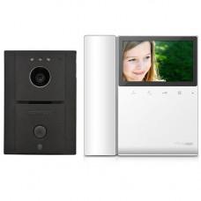 Set videointerfon Commax ECO SET LITE, 1 familie, 4.3 inch, aparent