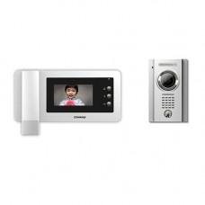 Set videointerfon Commax ECO SET, 1 apartament, 4 inch, aparent