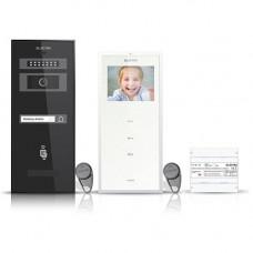 Set videointerfon Electra Smart VID-ELEC-01, 1 familie, aparent, 3.5 inch