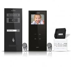 Set videointerfon Electra Smart VID-ELEC-02, 1 familie, 3.5 inch, aparent