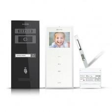 Set videointerfon Electra Smart VID-ELEC-18, 1 familie, aparent, 3.5 inch