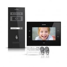 Kit videointerfon Electra Smart VID-ELEC-34, 1 familie, aparent, 7 inch