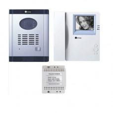 Set videointerfon Genway CM-06DND1M, 1 familie, 3.5 inch, ingropat