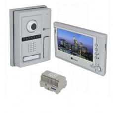 Set videointerfon Genway FS5V11, 7 inch, aparent, 1 familie