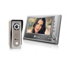 Set videointerfon Genway FS7V11, aparent, 7 inch, 1 familie