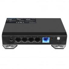 Switch ethernet PoE+ SF5P-L, 4 porturi, 1Gbps,