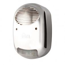 Sirena de exterior cu flash Inim IVY-BFM, 103 dBA, anti-spuma, cromata