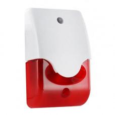 Sirena de exterior piezo stroboscopica Bentel LD95, 110 dB, 150 flash/min