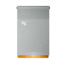 Sirena de exterior piezoelectrica cu flash Ksenia IMAGO BUS SILVER ORANGE, KS-BUS, 100 dBA, IP43