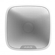Sirena de exterior wireless AJAX StreetSiren WH, 150 dB, IP54, 1500 m