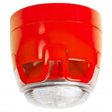 Sirena de incendiu KAC CWSS-RR-S5, aparent, 102.7 dB, 12/24 V