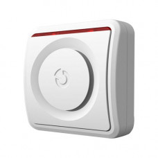 Sirena de interior piezoelectrica adresabila Jablotron 100 JA-110A, 90 dB, buton programabil, 12 V