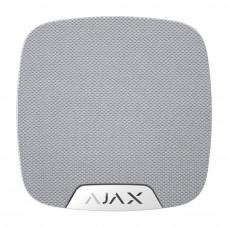 Sirena de interior wireless AJAX HomeSiren WH, 150 dB, antisabotaj, 5 ani
