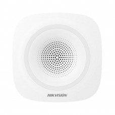 Sirena wireless de interior Hikvision DS-PSG-WI-868, 110 dB, 868 MHz, 800 m