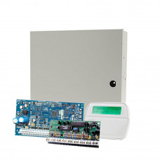 Sistem alarma antiefractie DSC PC 1616-E LCD, 2 partitii, 14 zone, 500 evenimente