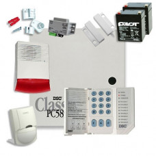 Sistem alarma antiefractie DSC Power KIT 585 EXT SIR
