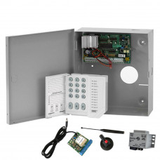 Sistem alarma antiefractie DSC Power PC 585 + SEKA GPRS, 1 partitie, 4 zone, 38 utilizatori