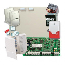 SISTEM ALARMA ANTIEFRACTIE DSC INTERIOR POWER KIT PC 1616 INT