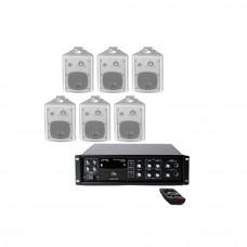 Sistem Audio STUDIO-M Chillout 2 Wall,6 boxe perete, USB-BT