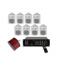 Sistem Audio STUDIO-M Ambient 1 Wall, 8 boxe perete, bluetooth, 100 V