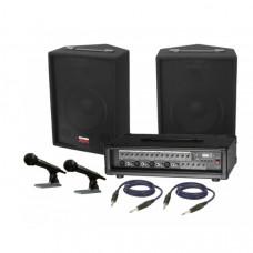 Sistem audio STUDIO-M ECO10-AE42BEM,boxe, mixer, microfoane