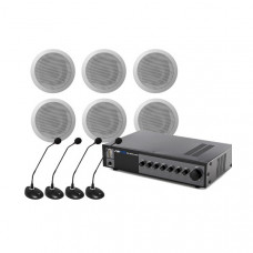 Sistem Audio STUDIO-M Sali Conferinte 1-C, 120 W, 100 V