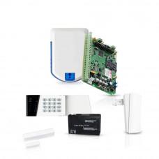 Sistem de alarma wireless Eldes, GSM/GPRS, 32 zone, 4 partitii, 1 detector
