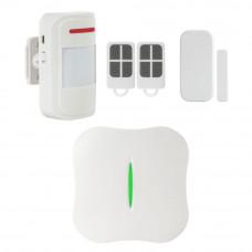 Sistem de alarma wireless KR-W10, 8 zone, 433 MHz, 100 m