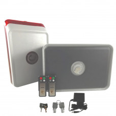 Sistem de alarma wireless Safe4u RO911141AAS, infrasunet, 120 dB, 800 m2