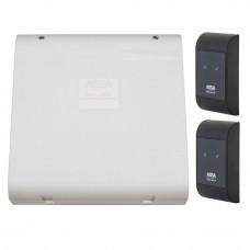 Sistem de control acces pentru o usa bidirectionala Assa Abloy RX WEB 9101IV-1B, 100000 carduri, 13.56 MHz