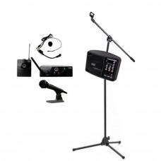 Sistem PA portabil SOUNDKING PSM05R pentru conferinte, microfon AKG Wireless Headset, bluetooth