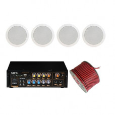 Sistem sonorizare ambiental pentru restaurante, player, bluetooth