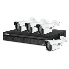 Sistem supraveghere exterior basic Acvil AD-4EXT40-2MP, 4 camere, 2 MP, IR 40 m