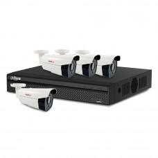 Sistem supraveghere exterior basic Acvil AD-4EXT60-2MP, 4 camere, 2 MP, IR 60 m