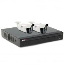 Sistem supraveghere exterior basic Acvil B2EXT60-2MP-V2, 2 camere, 2 MP, IR 60 m