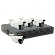 Sistem supraveghere exterior basic Acvil B4EXT60-2MP-V2, 4 camere, 2 MP, IR 60 m